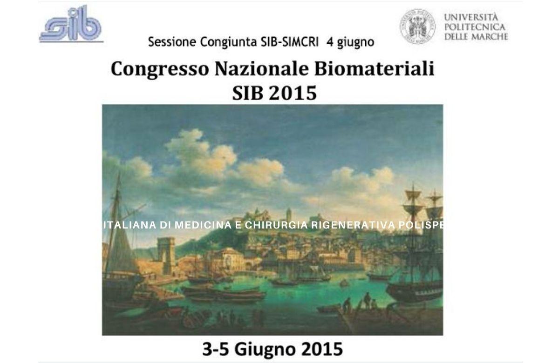 Congresso nazionale Biomateriali SIB 2015